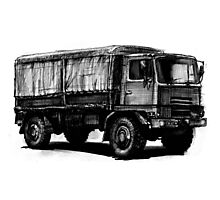 Bedford TM Army Truck Photographic Print