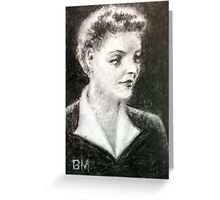 Bette Davis #4 - ACEO Greeting Card