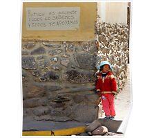Waiting for Mum (Peru) Poster