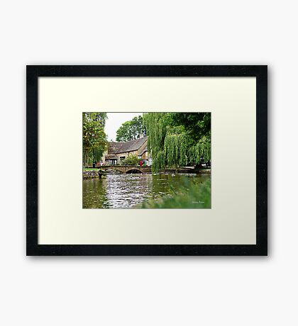 Bourton-on-the-Water Framed Print