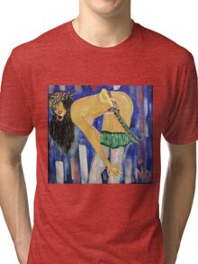 Pirate Woman Tri-blend T-Shirt