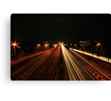 Evening Rush Hour Canvas Print