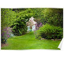Take a Stroll Through the Garden Poster