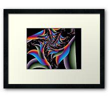 Freaky Fronds Framed Print