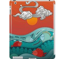 Fish Float iPad Case/Skin