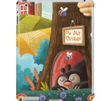 Sleepy Bear iPad Case/Skin