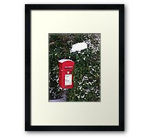 Rural Postbox Framed Print