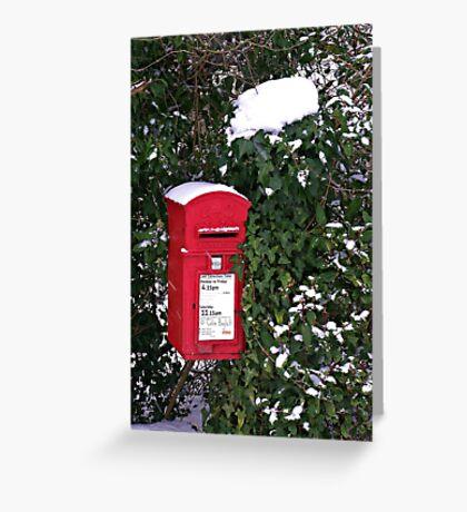 Rural Postbox Greeting Card