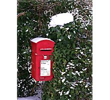Rural Postbox Photographic Print