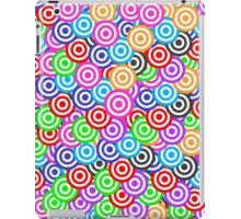 Color Me Bullseye iPad Case/Skin