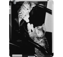 Playful kittens bro & sis iPad Case/Skin