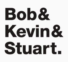 Minions • Bob & Kevin & Stuart. Kids Clothes