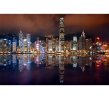 Skyline of Hong Kong 2015 Photographic Print