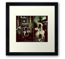 vintage fascination Framed Print