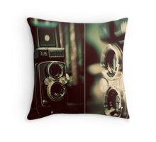 vintage fascination Throw Pillow