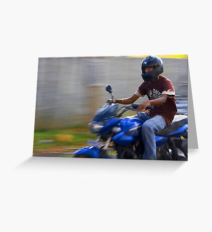 Eco drive Greeting Card