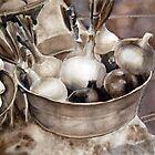 Farmer's Market Onions by Yevgenia Watts