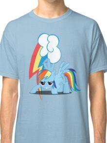 Rainbow Dash with cutie mark Classic T-Shirt