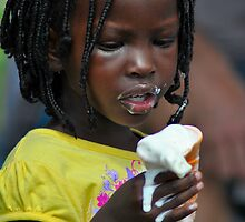 Melting Ice Cream by Bas Van Uyen
