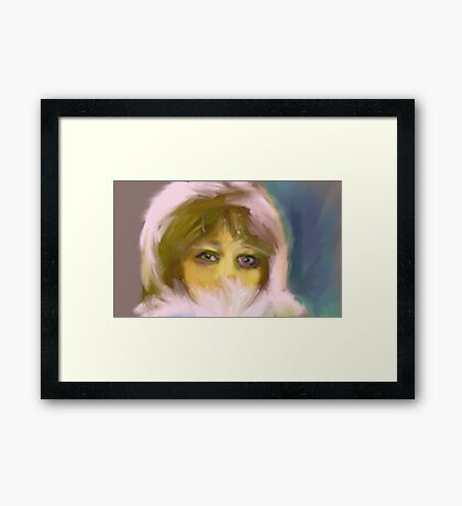 Afraid of the Cold Framed Print
