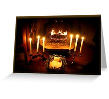Imbolc Hearth Card Greeting Card