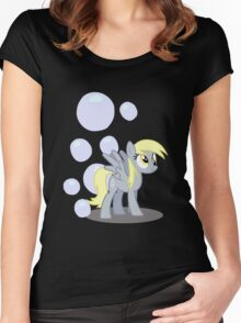 Derpy Hooves with cutie mark Women's Fitted Scoop T-Shirt