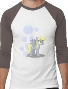 Derpy Hooves with cutie mark Men's Baseball ¾ T-Shirt