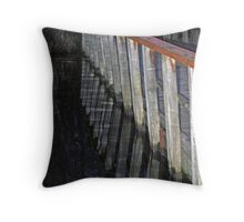 Crooked Dusk Reflection Throw Pillow