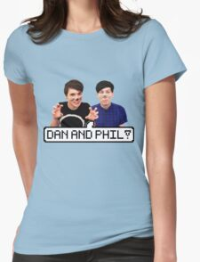 Dan and Phil! Womens Fitted T-Shirt