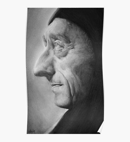 Jacques Yves Cousteau Poster