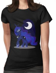 Princess Luna with cutie mark Womens Fitted T-Shirt