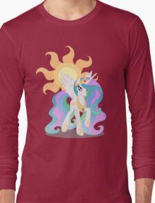 Princess Celestia with cutie mark Long Sleeve T-Shirt