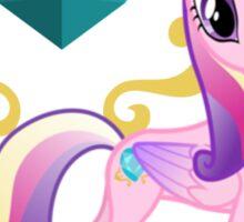 Princess Cadence with cutie mark Sticker