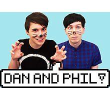 Dan and Phil! Photographic Print