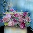 Flowers In A Box by arline wagner