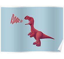 Baby T-rex Poster