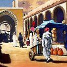 Steet market in Morocco by Mick Kupresanin