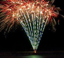 Sparklers - Happy Birthday by Julia Harwood