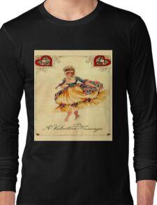 Vintage Valentine Message Long Sleeve T-Shirt