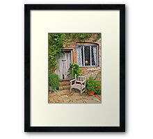 The Seat Framed Print