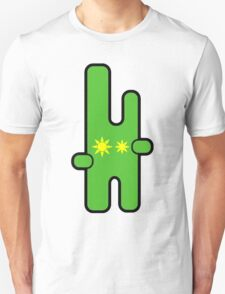 Funny digital green alien T-Shirt