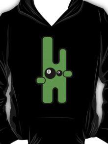 Funny digital green alien T-Shirt