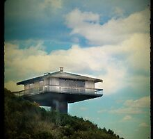 the beach house in the sky by Sonia de Macedo-Stewart