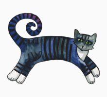 Striped cat of stripey joy T-Shirt