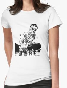 Jason Chess Game Womens Fitted T-Shirt