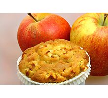 Apple Crumble Muffin  Photographic Print