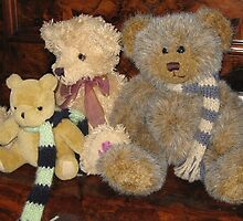 Boy & Girl Teddy with Pooh Bear. by Mywildscapepics