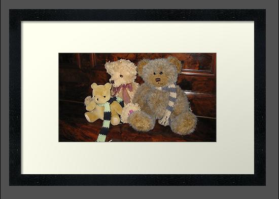 Boy & Girl Teddy with Pooh Bear. by Mywildscapepics