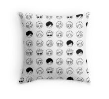 A Skool Luv Affair Throw Pillow