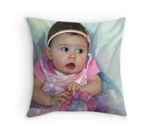The Little Fairy Throw Pillow